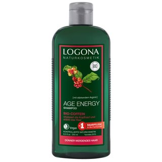 LOGONA Age Energy Shampoo Bio Coffein, 250ml