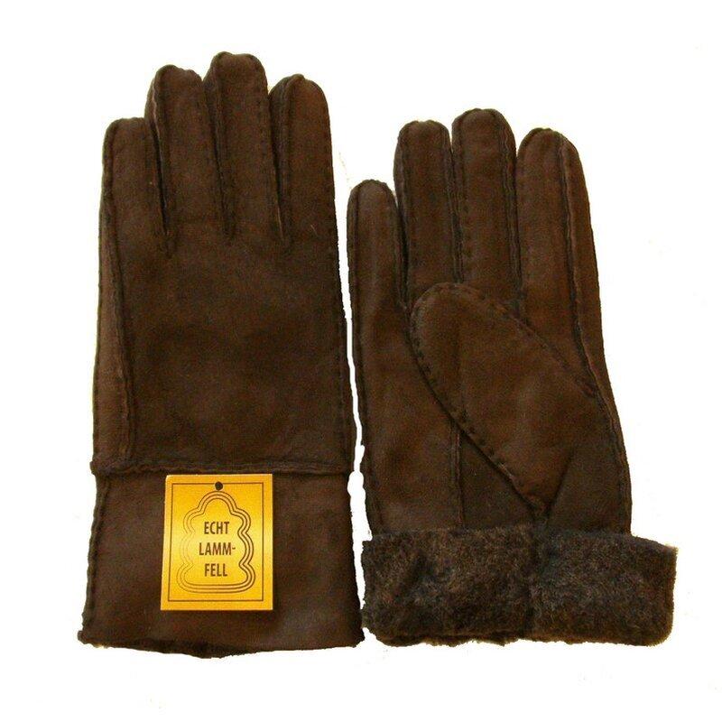 heitmann 100 lammfell handschuhe fingerhandschuhe echt. Black Bedroom Furniture Sets. Home Design Ideas