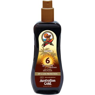 Australien Gold SPF 6 spray gel bronzer