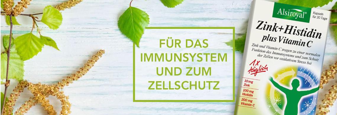 Alsiroyal Zink+Histidin +Vit.C