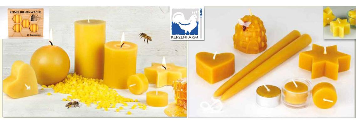 Bienewachskerzen