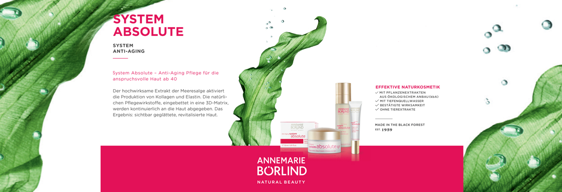 Annemarie Börlind Systeme Absolute