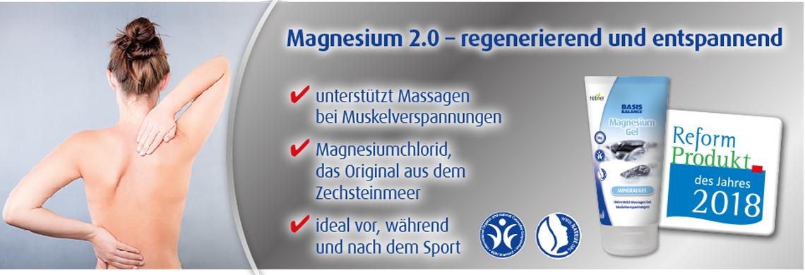 Hübner Basis Balance Magnesium-Gel