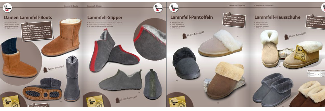 Heitmann Lammfel Schuhe