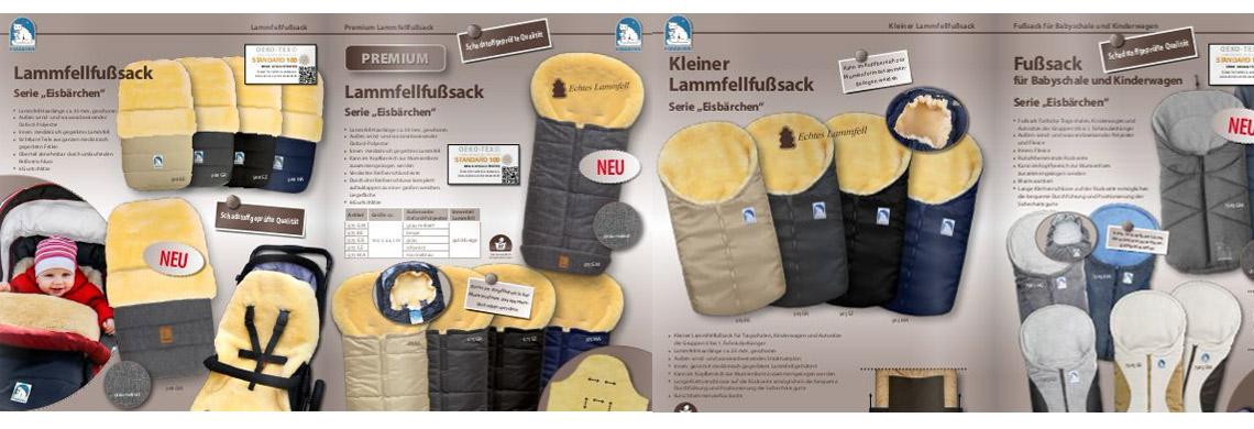 Heitmann Lammfell Fussack